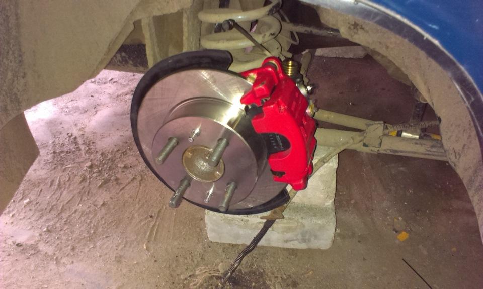 Дисковые тормоза на ваз 2107 задние