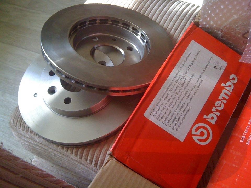 Передние тормозные диски киа сид 2011