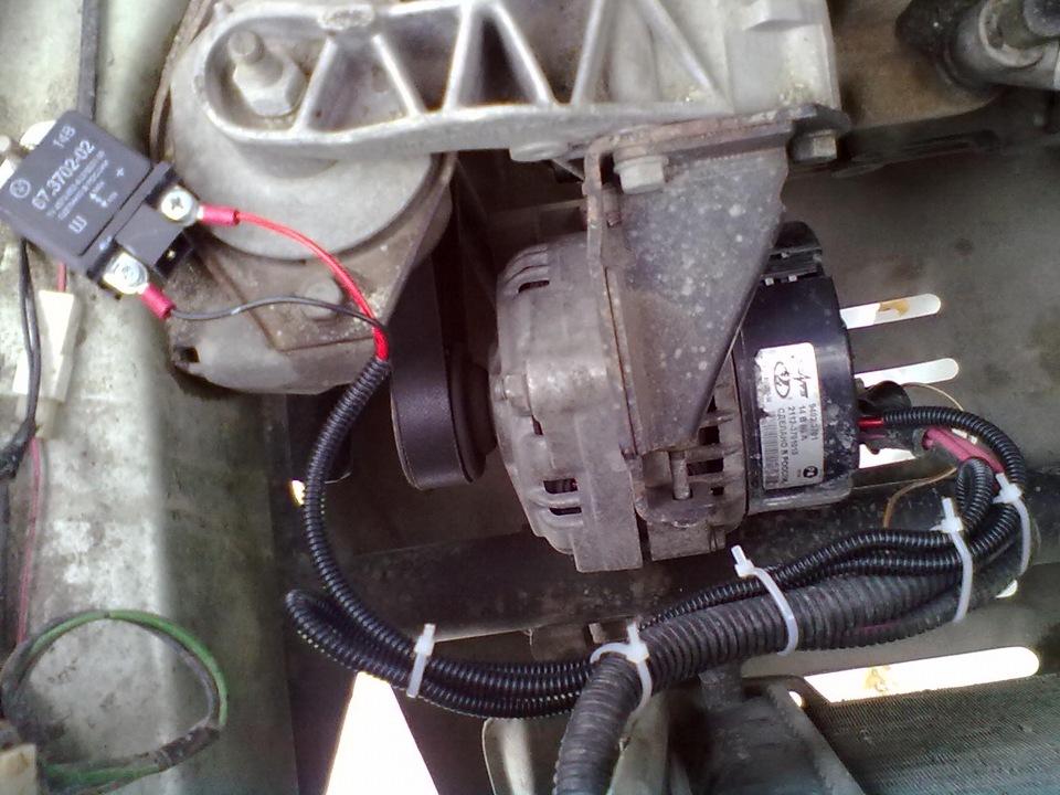Фото №25 - трёхуровневый регулятор напряжения на ВАЗ 2110