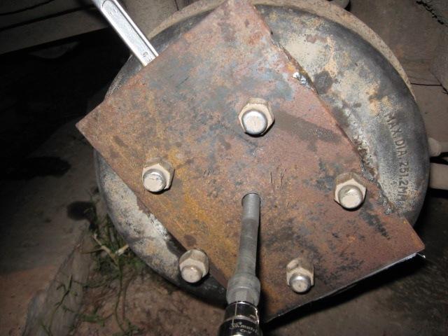Съемник тормозного барабана своими руками