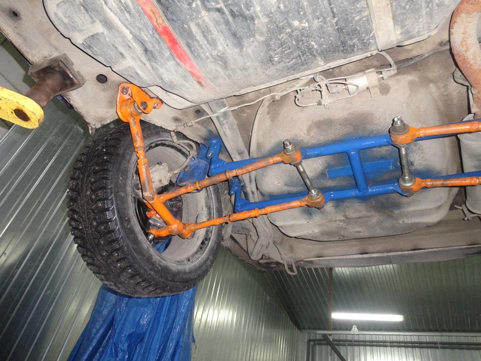Фото №11 - независимая задняя подвеска ВАЗ 2110