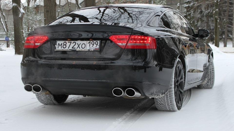 Audi a5 sportback oil killer drive2 Audi a5 motor oil