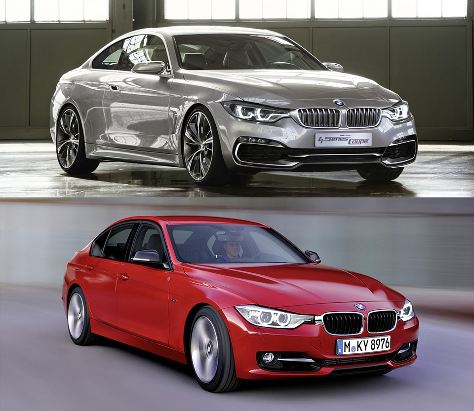 bmw f32 vs f30 compared 4 series vs 3 series logbook bmw 3 series 2012 on drive2. Black Bedroom Furniture Sets. Home Design Ideas