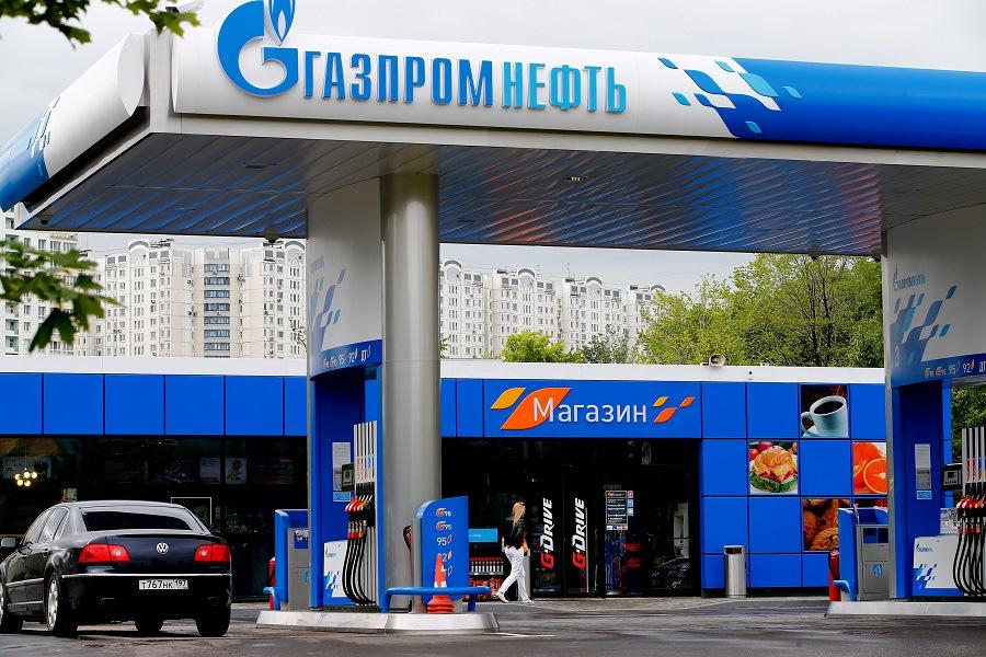Газпромнефть азс картинки