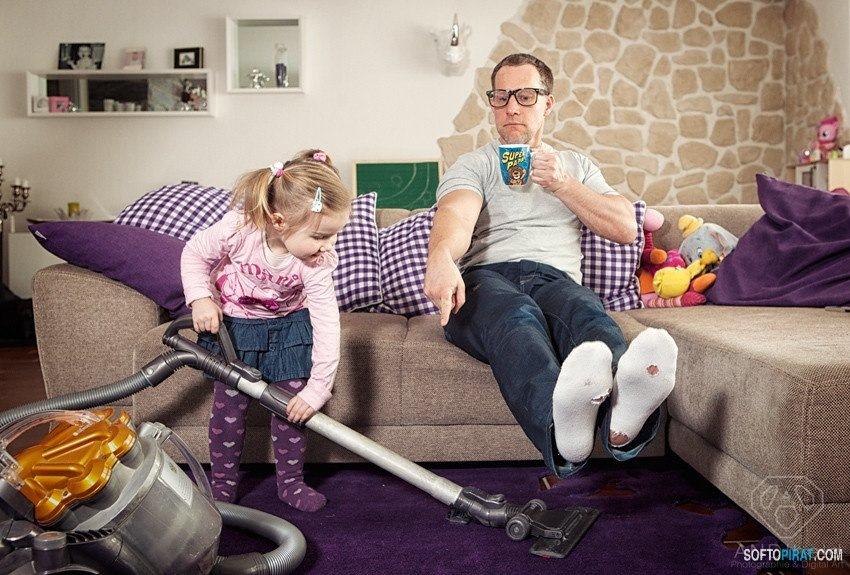 прикольные картинки отцов с дочками фотографа