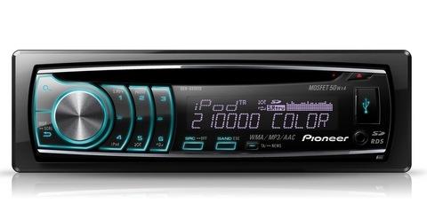 Pioneer DEH-6350SD Тюнер AM, FM (24 предустановленные станции) Воспроизведение Вашу коллекцию на CD (включая CD-R...