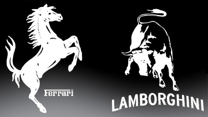 ламборджини против феррари