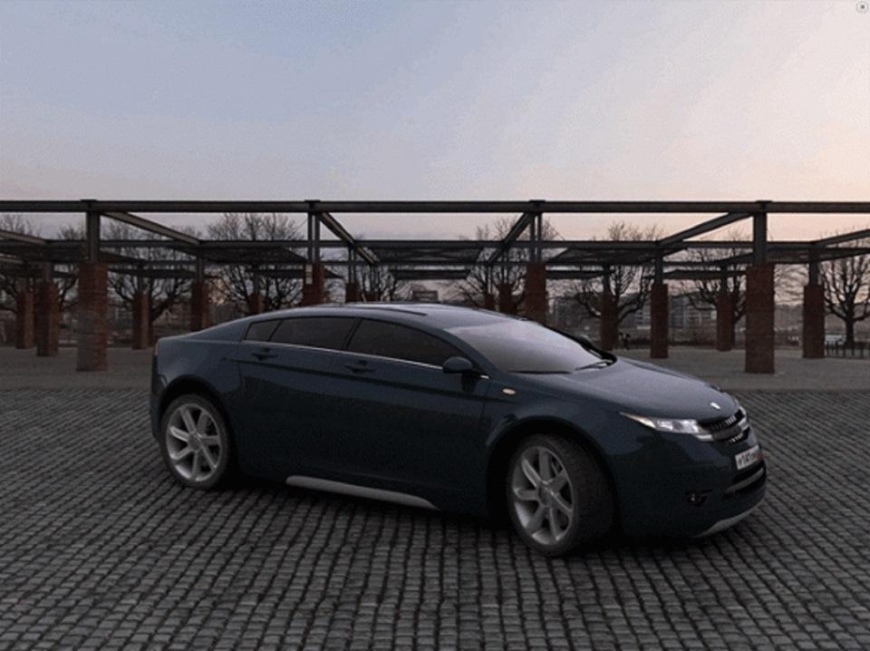 авто волга концепт кар