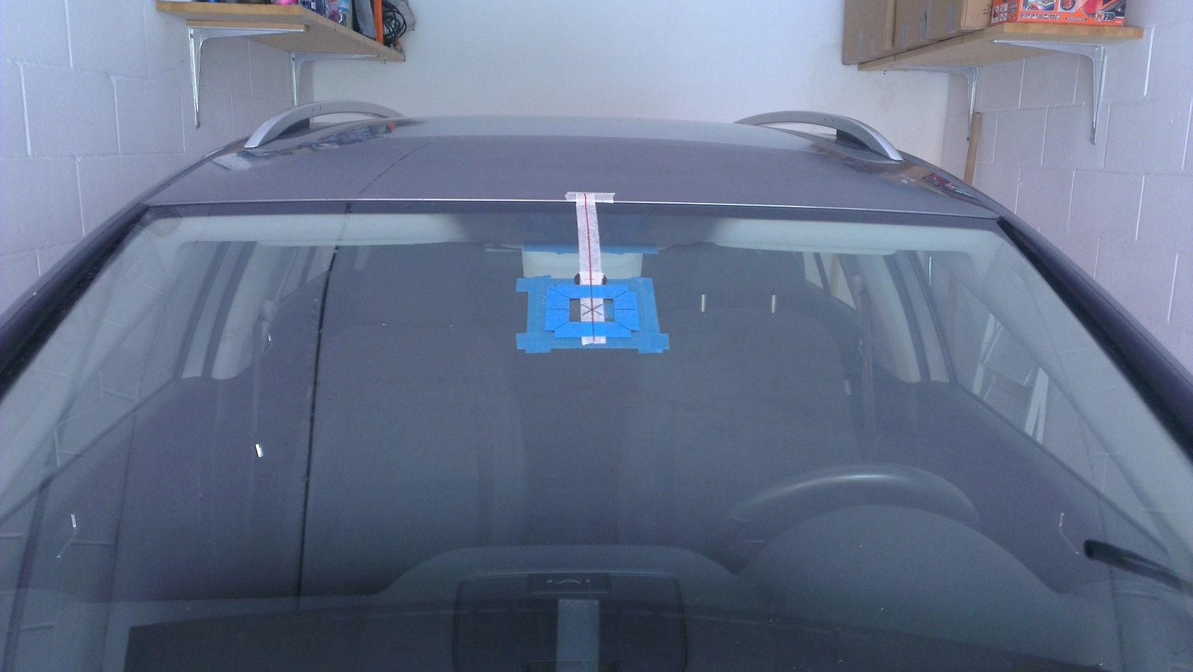Diy Installing Oem Rain Light Sensor Auto Dimming Rearview Mirror Wiring A