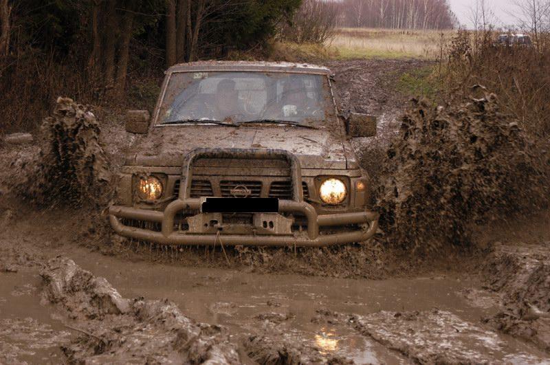 boue de jeep