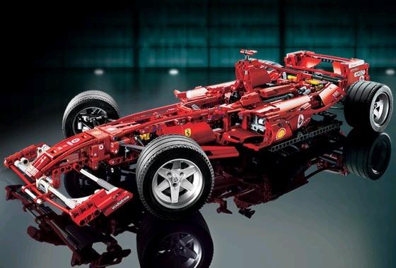 LEGO Technic 8674 — копия F1 а