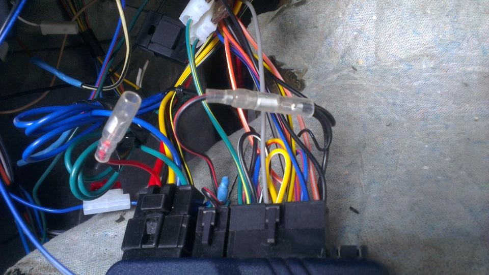 Фото №20 - точки подключения сигнализации на ВАЗ 2110