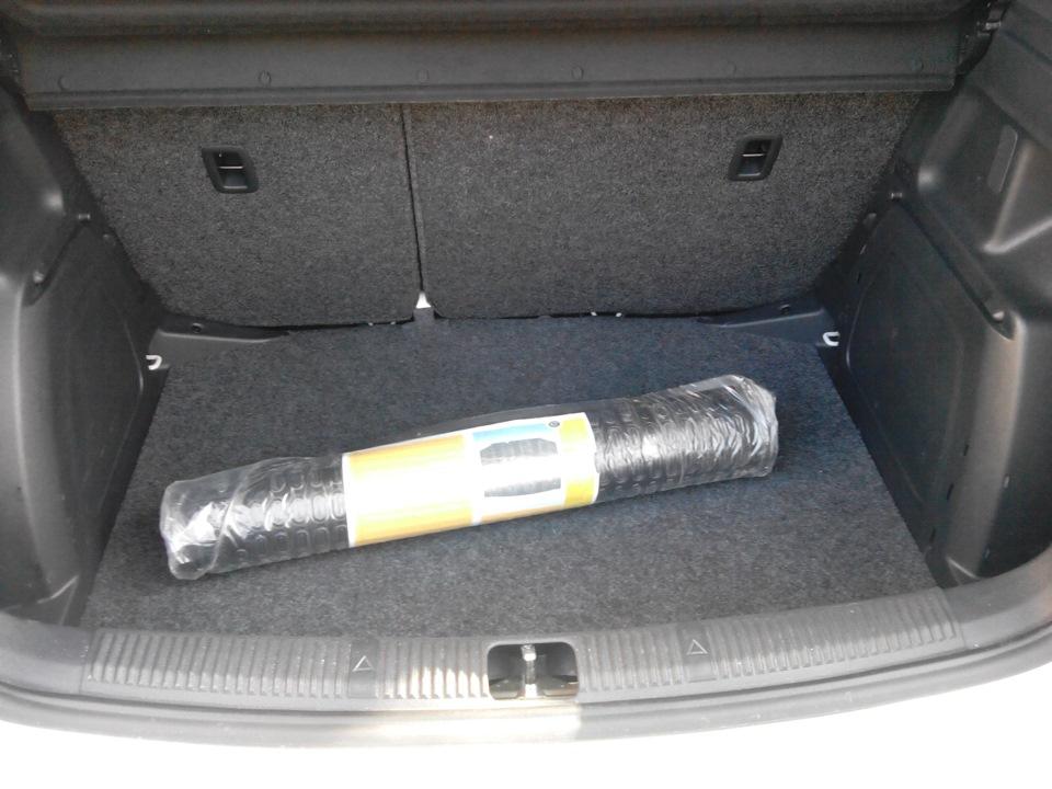 коврик в багажник skoda fabia