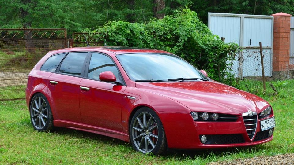 alfa romeo 159 sportwagon rosso ti drive2. Black Bedroom Furniture Sets. Home Design Ideas