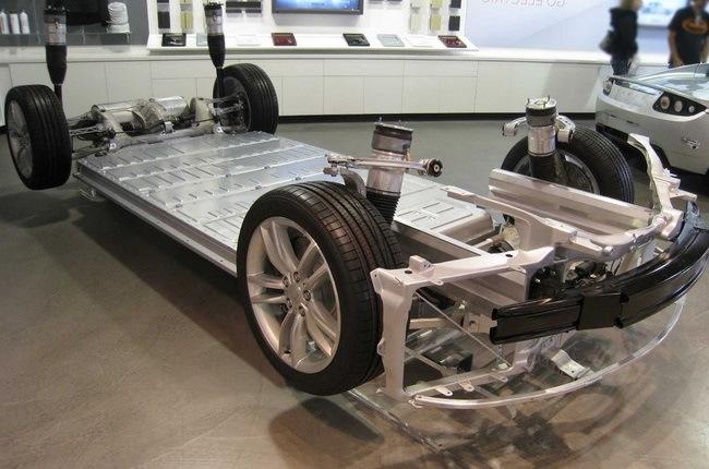 устройство батареи tesla model s