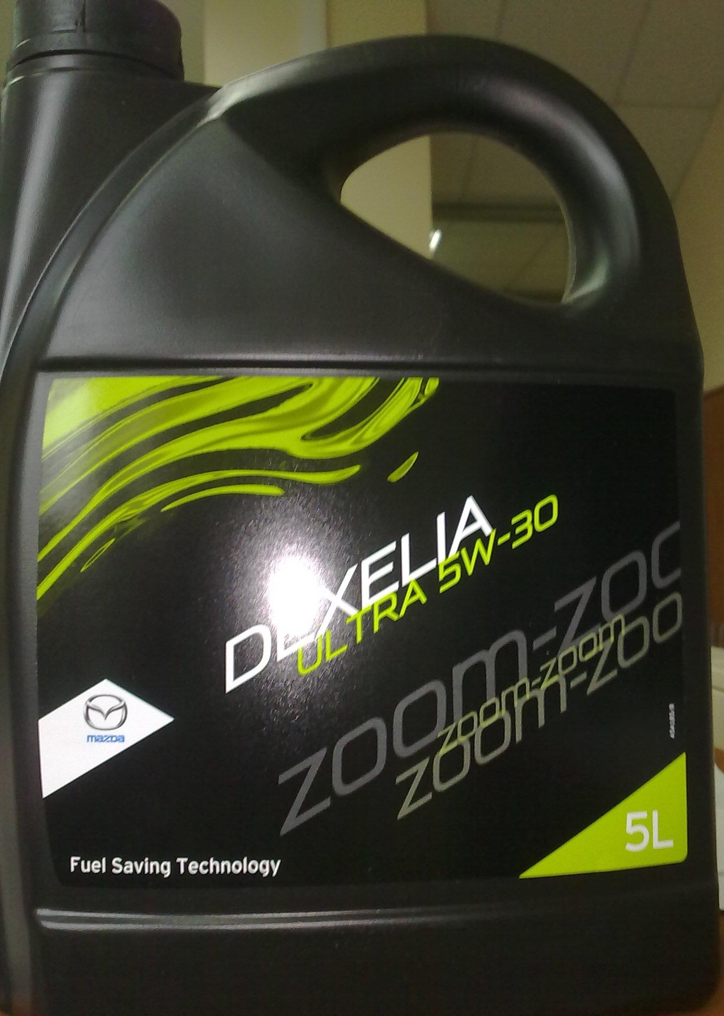 моторное масло mazda 5w30