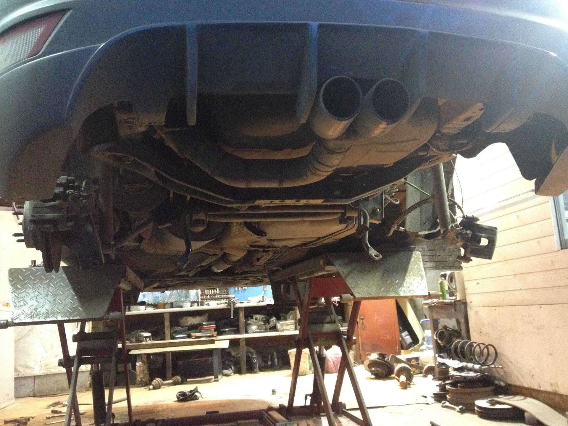 задняя подвеска - Форд Фокус Клуб / Ford Focus Club
