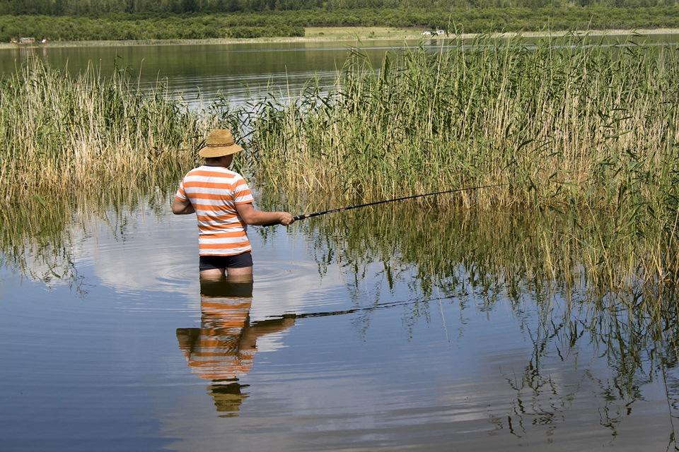 Рыболовные озера красноярский край