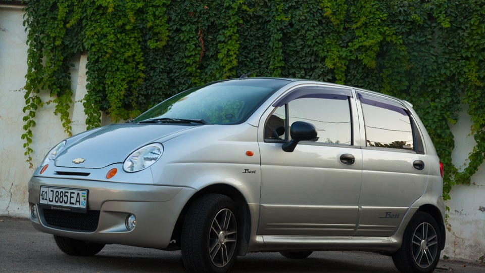 chevrolet matiz best мокрый асфальт