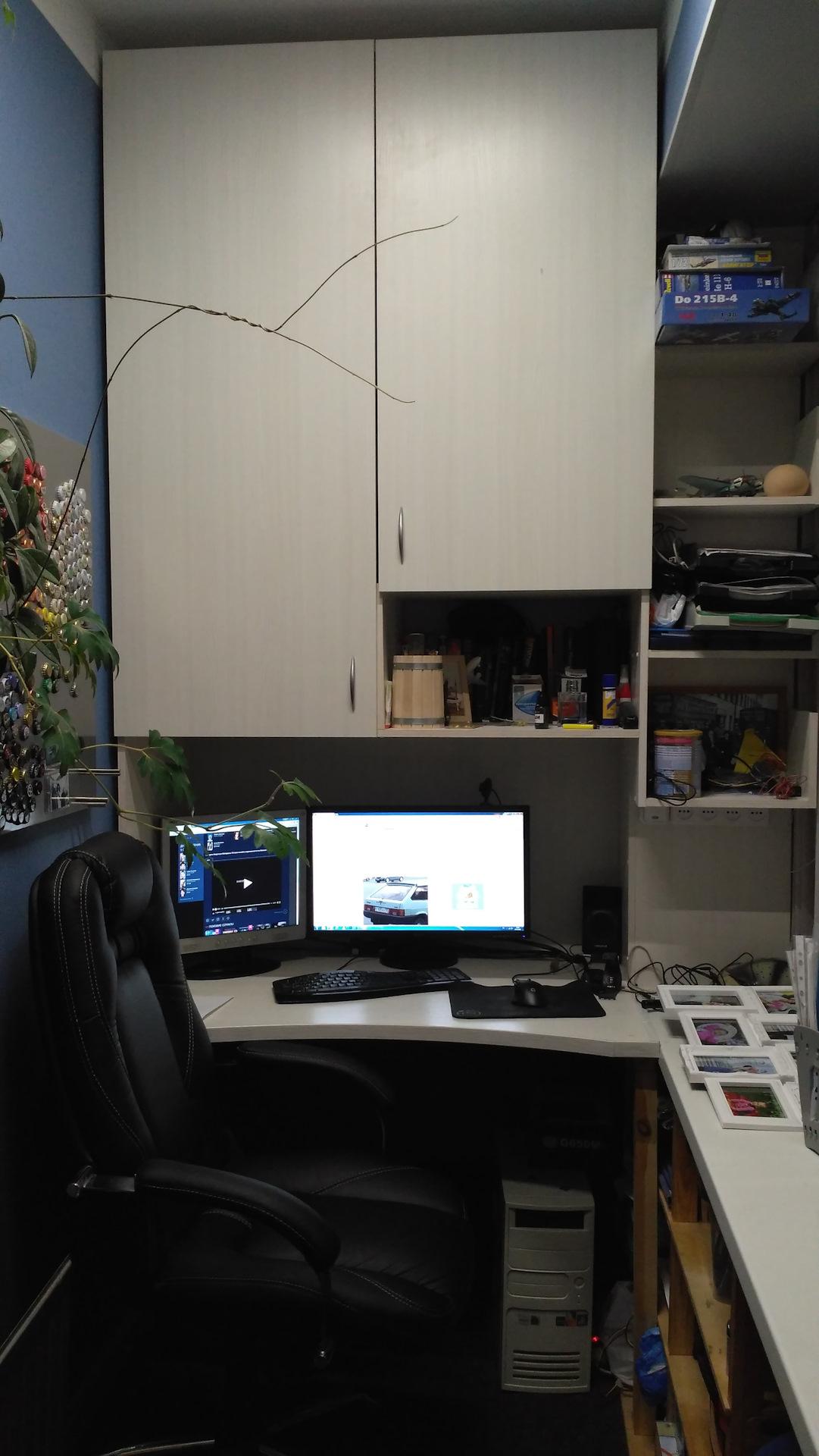 """Шкаф-стол в лоджию - сообщество """"сделай сам"""" на drive2."""