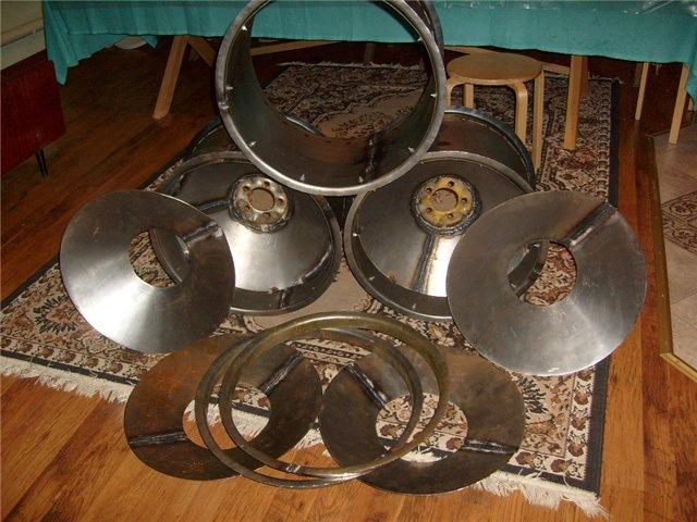 Делаем диски для шин низкого давления