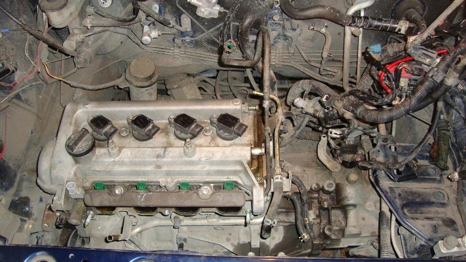 Замена двигателя тойота своими руками 614