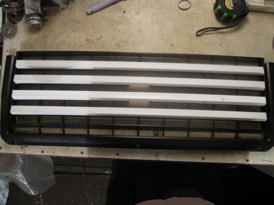 Решетка радиатора на ваз 2104 своими руками