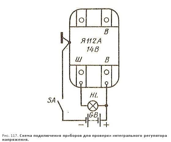 Схема проверки интегралки