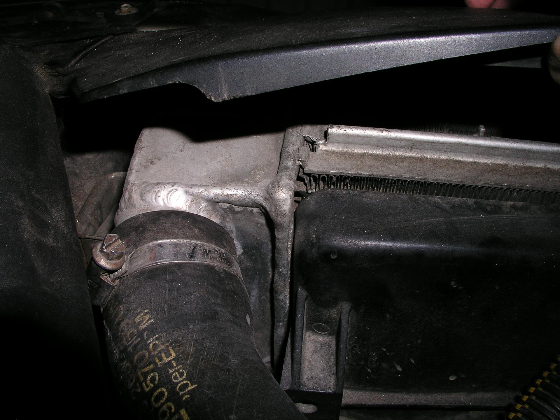 Как паять алюминиевый радиатор