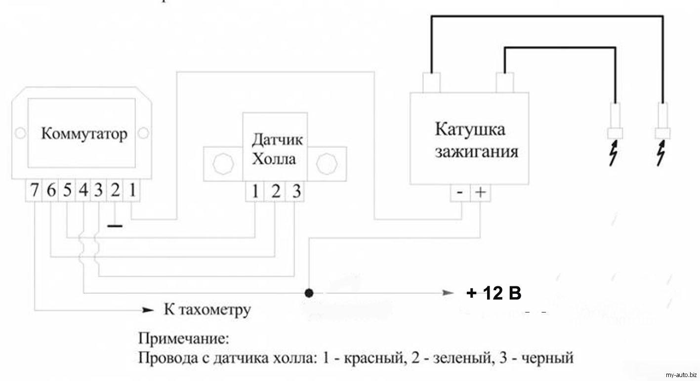 иж юпитер 3 схема подключения рэле зарядки