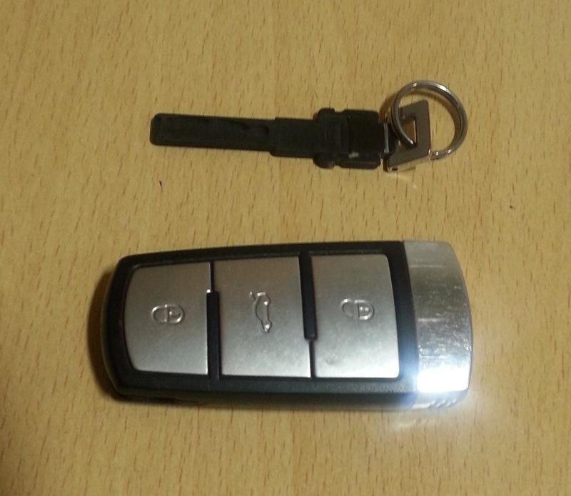 поменять ключ на фольксваген б6