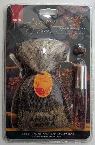 Ароматизатор с запахом кофе