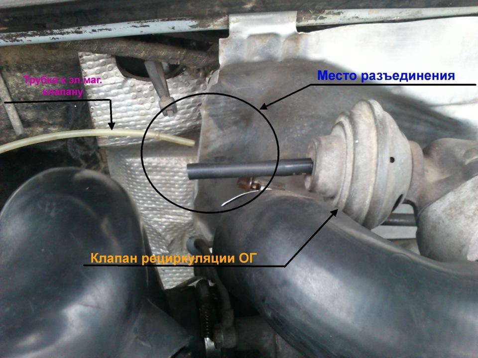 Схема вакуумной тормозной системы 753