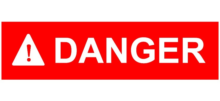 Опасные картинки с надписью