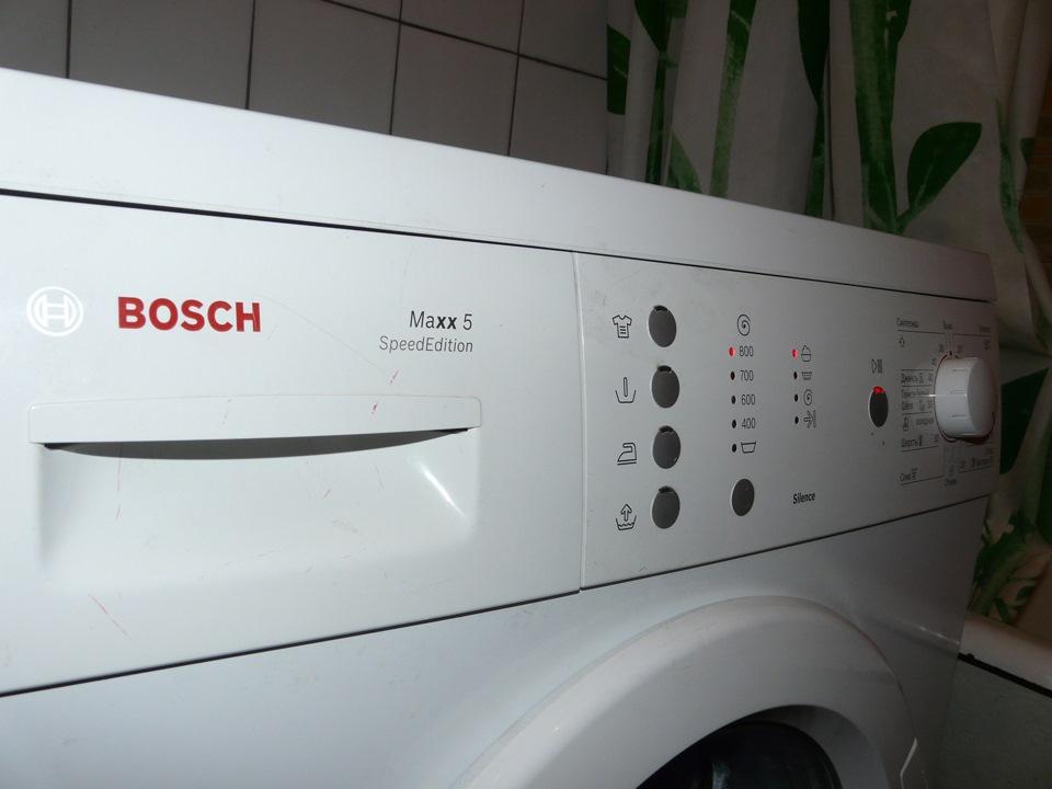 Бош макс 5 ремонт стиральных машин своими руками