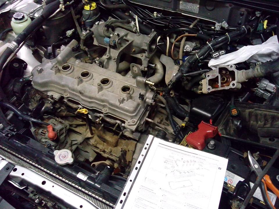 Двигатель qg18de ремонт своими руками