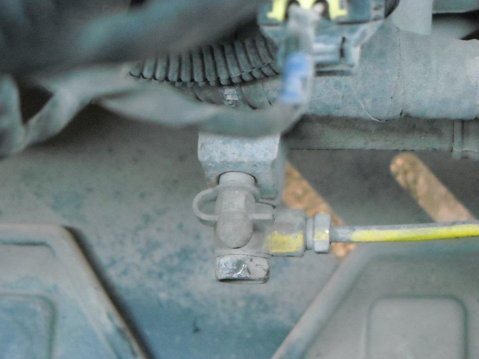 как удалить клапан задержки сцепления на киа рио