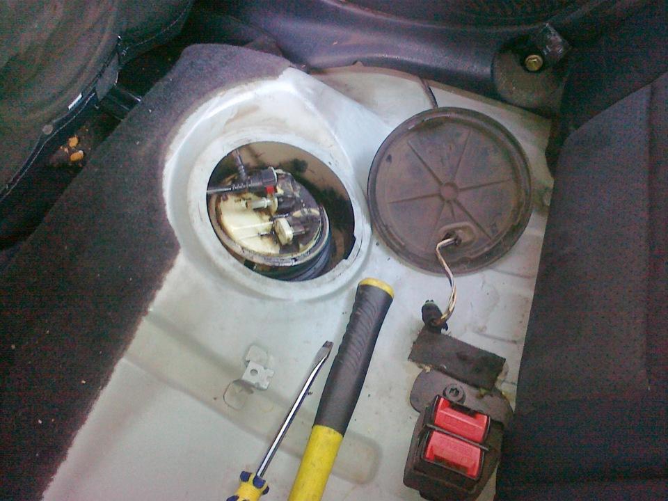 renault symbol ремонт топливный насос фото отчет