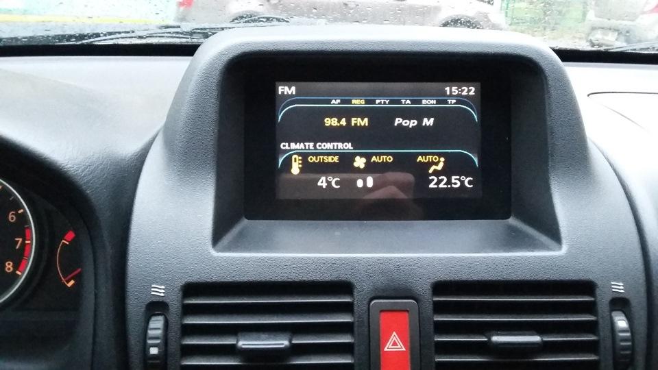 снятие климан контроля nissan almera 2005 n16