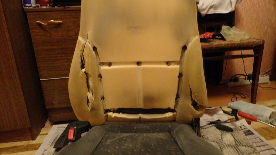 Ремонт водительского сидения