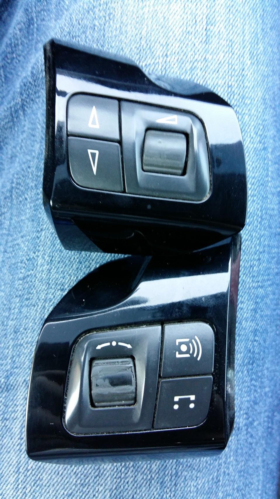 кнопки на руле opel zafira b