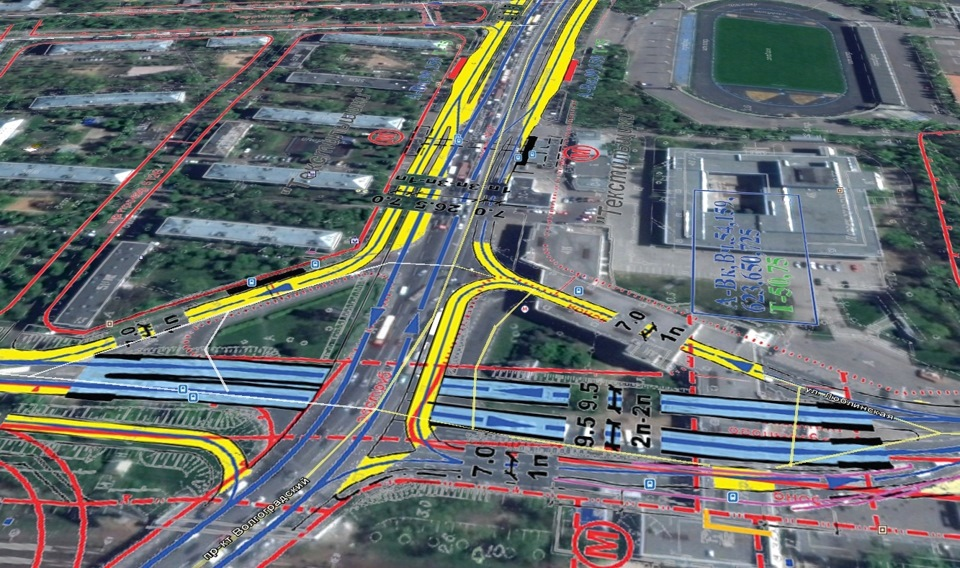 Реконструкция волгоградского проспекта схема 273