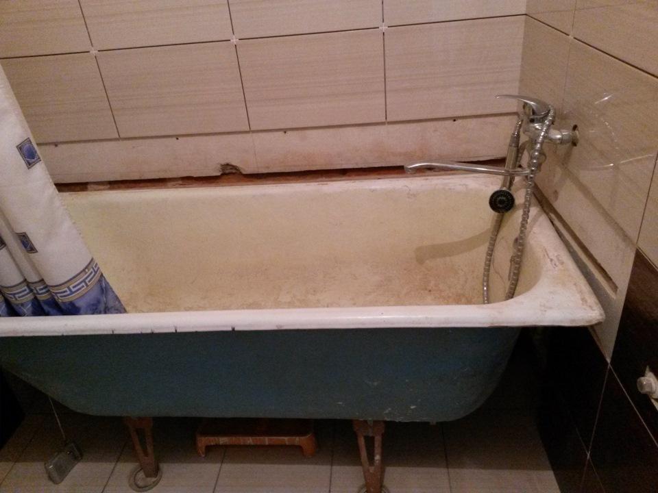 Как мы сами сделали ванну