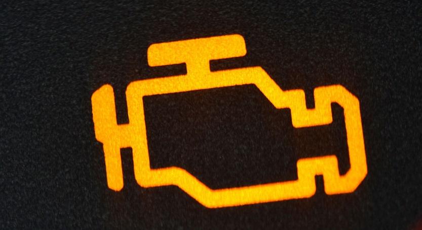 загорелся значок двигателя:
