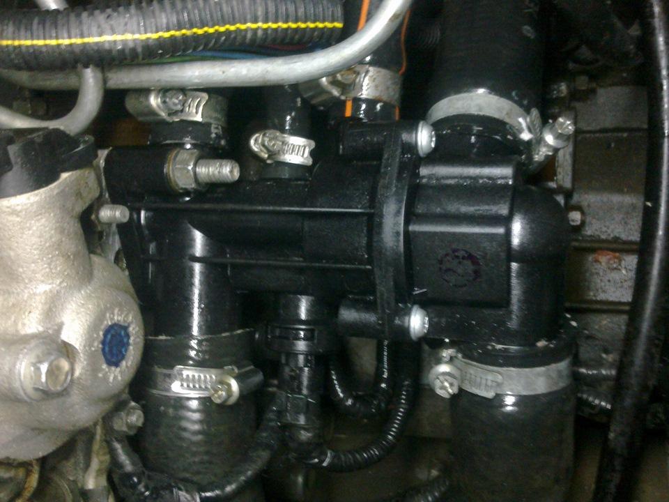 Фото №43 - 2110 замена термостата