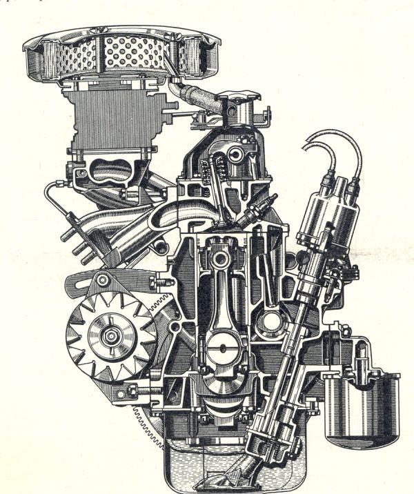 фото фиатовского двигателя на ваз 2101