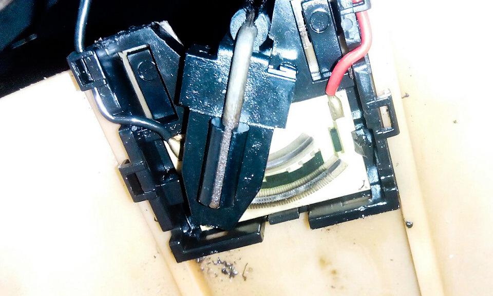 5128cb6s 960 - Шланг бензонасоса 2110 гофрированный короткий