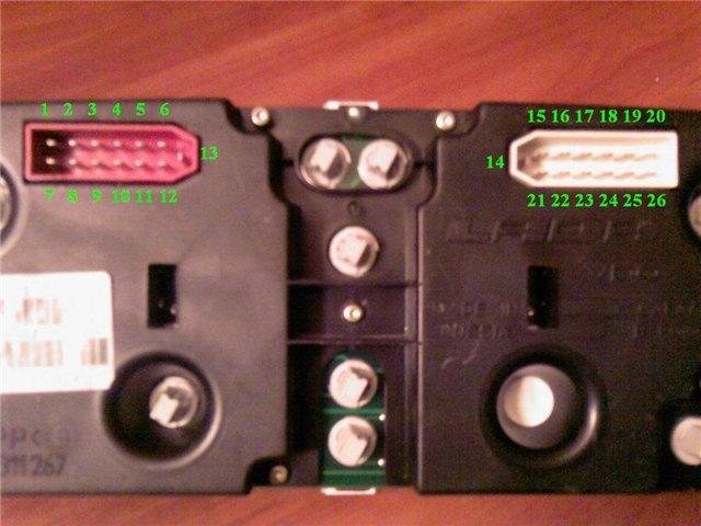 подключение щитков приборов фото