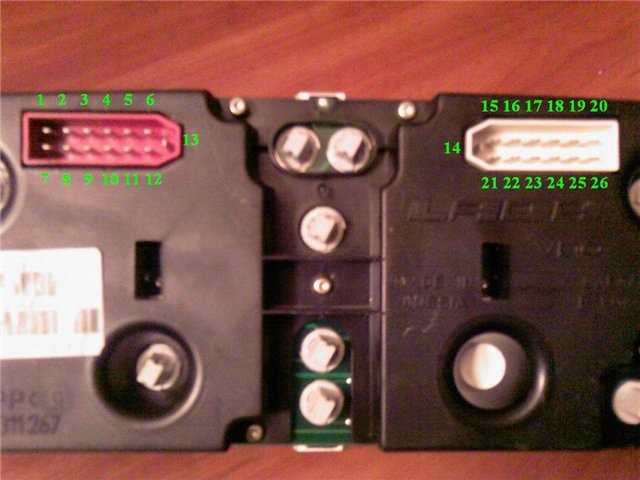 toyota runx сигнал скорости на приборной панели