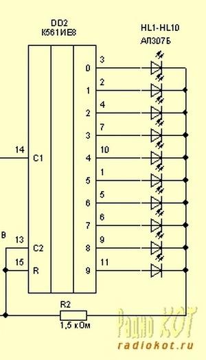 Микросхема — Десятичный